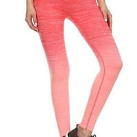 Ombre Print Activewear Leggings - Assorted Colors