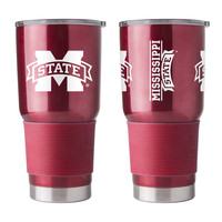 Mississippi State Bulldogs Travel Tumbler 30 oz Ultra Flared Burgundy