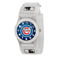Chicago Cubs MLB Kids Rookie Series Watch (White)
