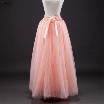 Women Tulle Party Prom Skirt Ball Gown Tutu Vintage.