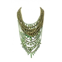 GREEN CANDY NECKLACE - Tom Binns