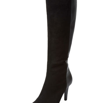 Seychelles Women's Outspoken Leather & Suede Boot - Black -