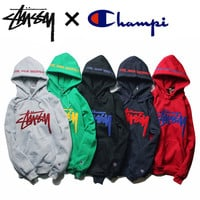 Hats Winter Men's Fashion Hip-hop Round-neck Hoodies [10290568583]