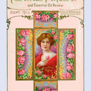 American Perfumer and Essential Oil Review, September 1912 20x30 poster