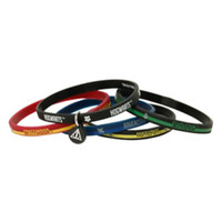 Harry Potter Hogwarts House Names Rubber Bracelet 5 Pack