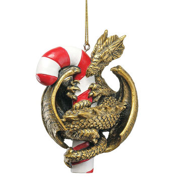Park Avenue Collection Sugar Breathing Dragon Ornament 2009