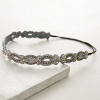 Deepa Gurnani Elisir Headband in Grey Size: One Size Hair