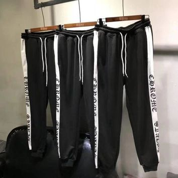 DCCKI2G Chrome Hearts Fashion Drawstring Pants Trousers Sweatpants