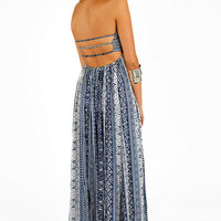 Katie Strapless Maxi Dress $42