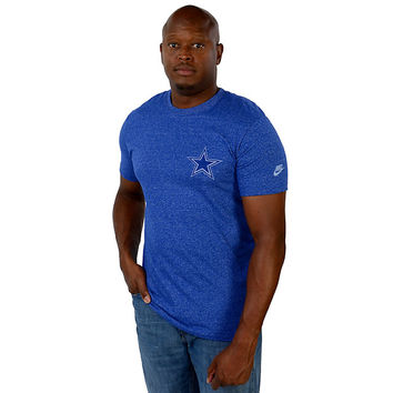 Dallas Cowboys Nike Rewind Cut Back Tee | Short Sleeve | T-Shirts | Mens | Cowboys Catalog | Dallas Cowboys Pro Shop