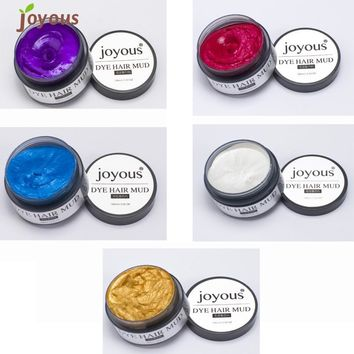 Beauty Girl Hot Joyous One-time Dye Hair Dye Hair Spray Mud Cream Men's Hair Dye Oct 27