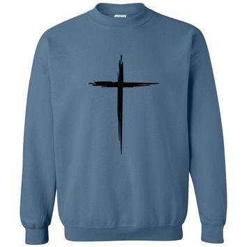 Cross Christian Crewneck Unisex Sweatshirt