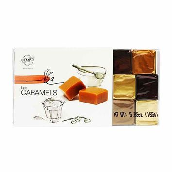 Paris Caramels - Assorted Butter Caramels, 18 pcs, 5.8 oz (165g)