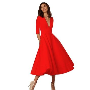 Retro 60s Swing dress