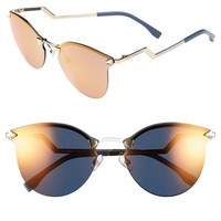 Women's Fendi 60mm Retro Sunglasses