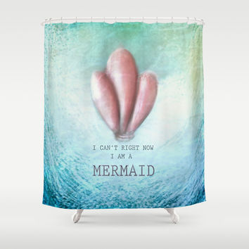 Mermaid Shower Curtain by Candy.