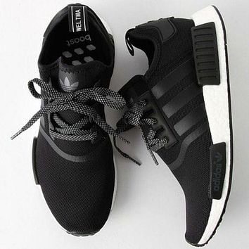 """Adidas"" Women Fashion Trending Running Sports NMD Shoes Black"