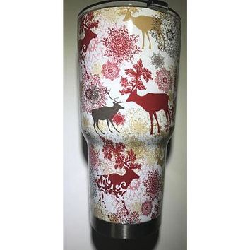 Fancy Deer Tumbler Warehouse Tumbler