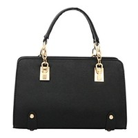 Fashion Women Simple Style Pu Leather Clutch Handbag Bag Totes Purse