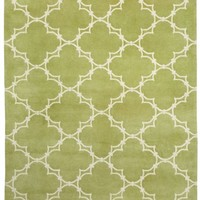 Yale Rug in Moss Cream