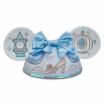 disney parks character ears princess cinderella ear hat adult size new with tags
