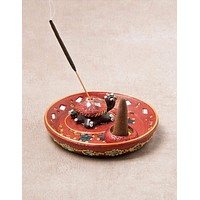 Turtle Cone and Incense Burner