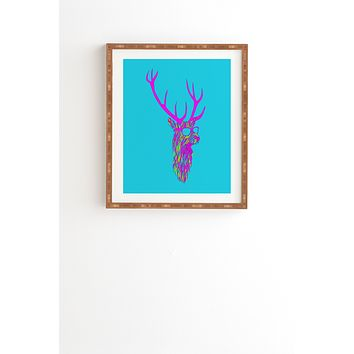 Robert Farkas Party Deer Framed Wall Art
