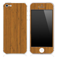 Bamboo Wood iPhone 3g/3gs, 4/4s or 5 Skin