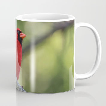 Cardinal Series I Mug by Theresa Campbell D'August Art