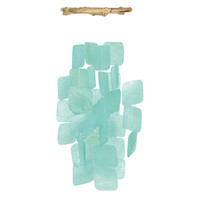 Windchime – Square Turquoise | Candy's Cottage