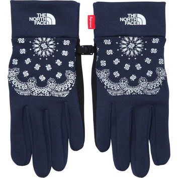 Supreme: Supreme/The North Face® Bandana Etip Glove - Navy