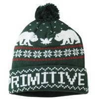 Primitive Jolly Bear Pom Beanie - Men's at CCS