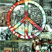 Woodstock Peace Collage Music Poster Print - 24x36 College Poster Print, 24x36