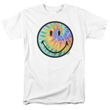 Smiley World - Tie Dye Face Short Sleeve Adult 18/1