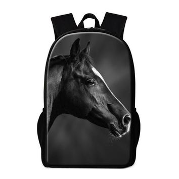 Cool Backpack school School Bags for Teen Girls Cool Animal School Back Pack Magazine Stylish Backpack for Boys Children Stylish Book Bag Travel bag AT_52_3