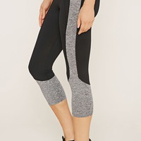 Active Contrast Capri Leggings | Forever 21 - 2000153425