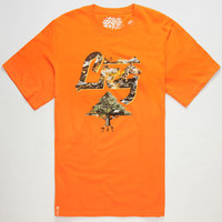 Lrg Root Of The Motherland Mens T-Shirt Orange  In Sizes