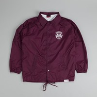 Diamond USA Coach Jacket Burgundy