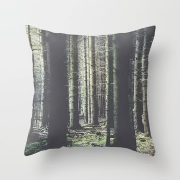 Forest feelings Throw Pillow by HappyMelvin | Society6