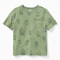 Printed Pocket Tee for Toddler Boys |old-navy