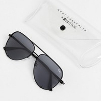Quay Australia X Desi High Key Mini aviator sunglasses at asos.com