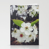 Spring Blooms Stationery Cards by Jessie Flori