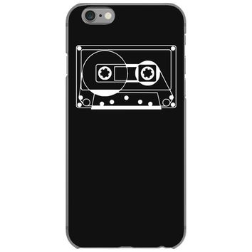 audio cassette 80's 90's party hip hop nostalgia retro iPhone 6/6s Case