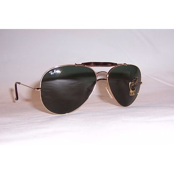 NEW RayBan Sunglasses Outdoorsman II 3029 181 GOLD/GREEN 62MM AUTHENTIC
