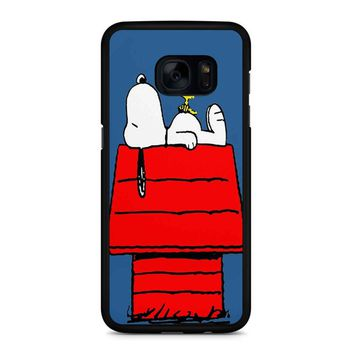 Snoopy And Woodstock Samsung Galaxy S7 Edge Case