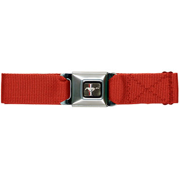 Mustang Seatbelt - Red Web Belt