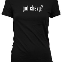 got chevy American Apparel Juniors Cut Women's T-Shirt