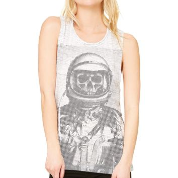 Ames Bros Women's Deep Space Muscle Tee