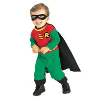 Robin Costume - Baby (Green/Red)