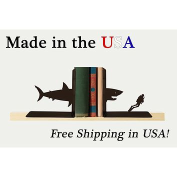 Shark Bookends